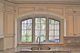 Kitchen Cabinet Valances Custom Arched Valance Traditional Kitchen Chicago