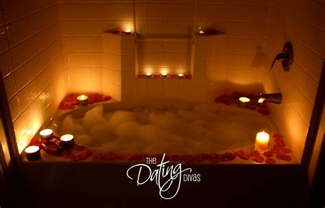 romantic decorations set the mood with rose petals for romance with your spouse bubble baths bath and romantic