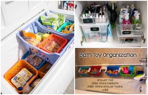 ideas to organize every area in your home 15 dollar store organization ideas for every area in your home