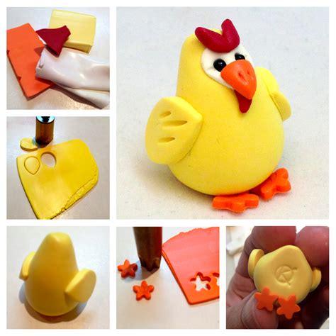 diy polymer clay chicken tutorial farm animal how to