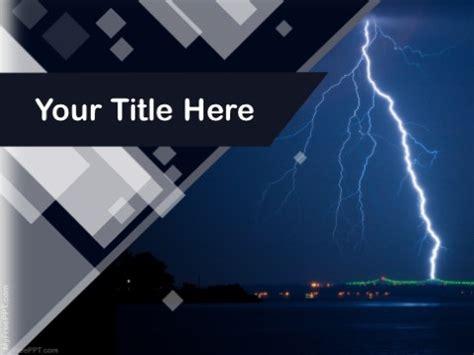 powerpoint templates lightning free free lightning powerpoint templates myfreeppt com