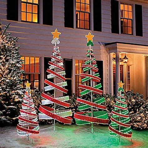 christmas outdoor decorations 60 trendy outdoor christmas decorations family holiday net guide to family holidays on the