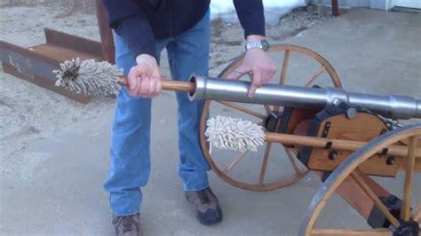 civil war cannon test scaled black powder