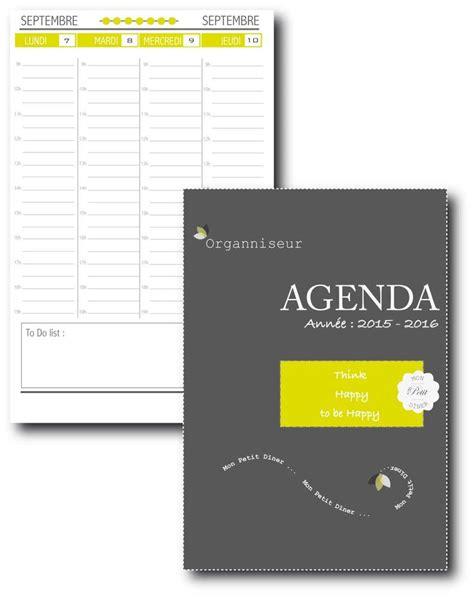 printable planner organizer 2016 17 best images about organisation a imprimer on
