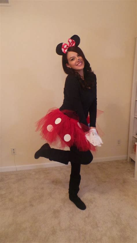 Handmade Minnie Mouse Costume - diy minnie mouse costume my style minnie