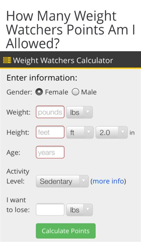 justdietnow weight watchers points points plus for ww allowance calculator weight watchers points plus