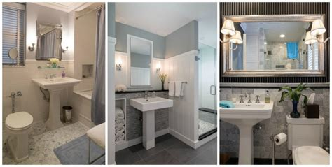 small bathroom redo small bathroom redo inspiration obsessed with pedestal