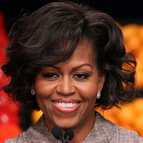 k michelle with natural curly hair beauty crush wednesday first lady michelle obama
