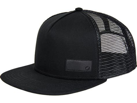 Topi Trucker Asics Tiger cap performance black asics hong kong