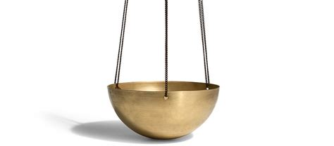 Hanging Brass Planter by Solid Brass Hanging Planter Kaufmann Mercantile