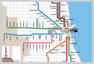 L Train Chicago Map by Chicago L Train Map City Submited Images