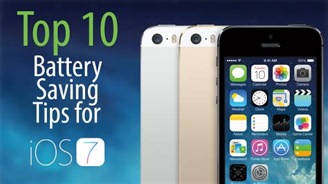 Top 7 Tips For by Top 10 Ios 7 Battery Saving Tips