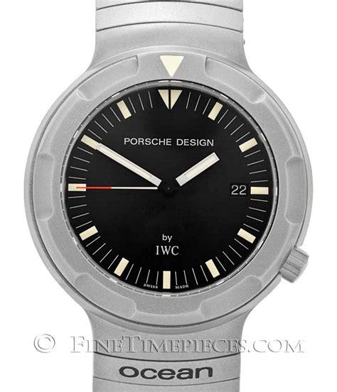 iwc porsche design iwc porsche design 2000 additional velcrostrap