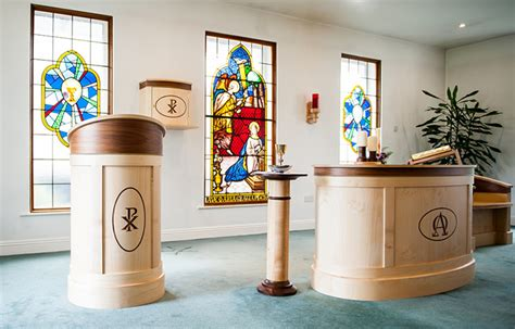 contemporary style church furniture church interior