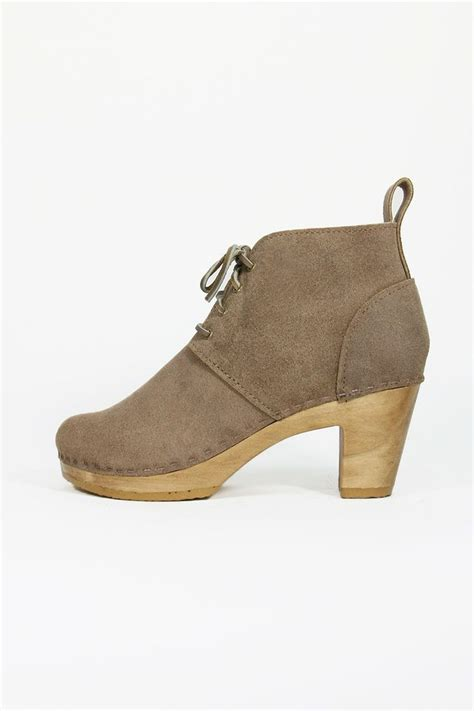 lace up ankle boot on heel no 6 every day