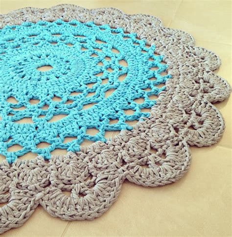 free crochet patterns for rugs crochet doily rug pattern lvly