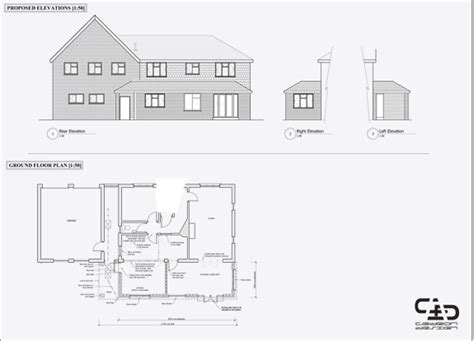 How To Draw House Plans On Computer by Cad Cedeon Design
