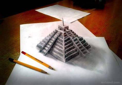 3d Drawing by 50 Beautiful 3d Drawings Easy 3d Pencil Drawings And