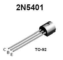 2n5401 2n 5401 Pnp Transistor 150v 600ma 2n5401 pnp high voltage transistor nightfire electronics llc