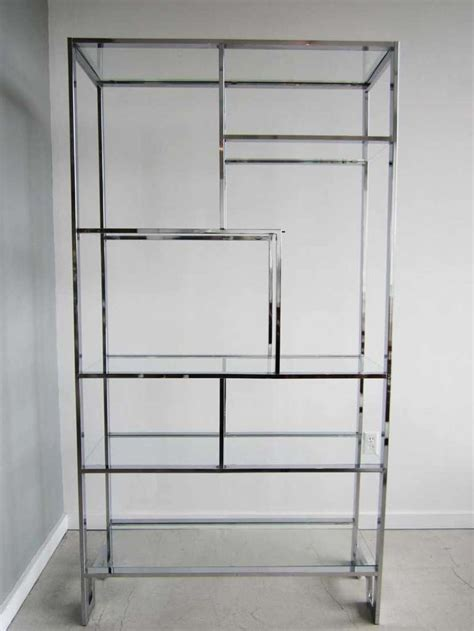 etagere modern pair of mid century modern etageres by milo baughman at