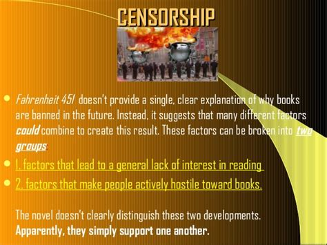 the themes of fahrenheit 451 gallery censorship fahrenheit 451 quotes