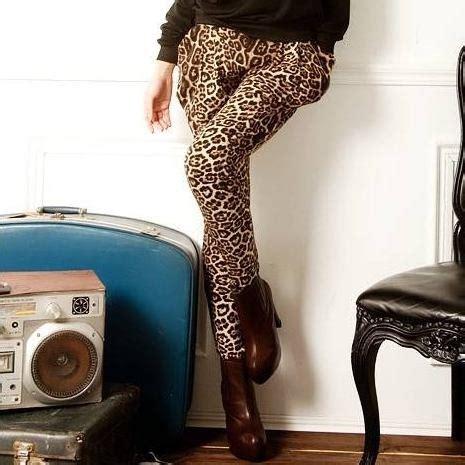 Celana Motif Import celana wanita import motif leopard model terbaru jual