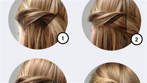 Hairstyles With Bobby Pins by Creative Bobby Pins Hairstyle Chikk Net