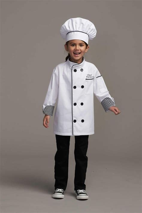 personalized chef costume  kids chasing fireflies