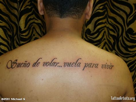tattoos in spanish tattoos
