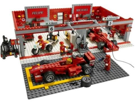 Figure Model Kit Playmobil Pit Mandi Bola lego 8144 racers f1 team lego product reviews and price comparison