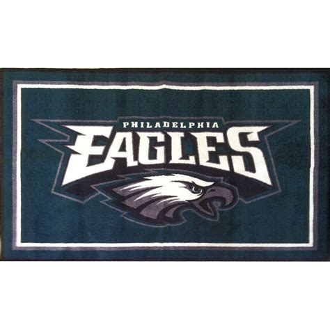Philadelphia Eagles Area Rug Nfleagles Lgrug 350gal Jpg