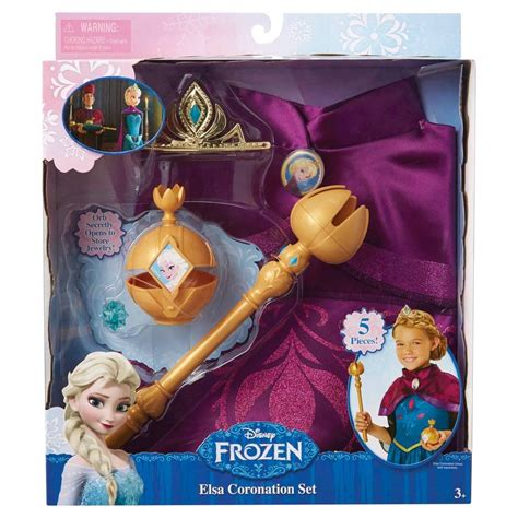 disney set elsa frozen tokoonecom disney frozen elsa coronation set ebay