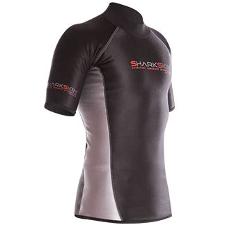 Sharkskin Wetsuit Chillproof Rear Zip Suit Womens Pakaian Diving 1 mens chilproof sleeve