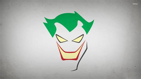 joker minimalist art hd desktop wallpaper background download