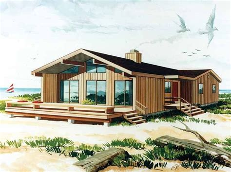 eplans contemporary modern house plan a private resort 63 best cottages floor plans images on pinterest beach