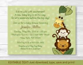 free baby shower invitations templates pdf theruntime