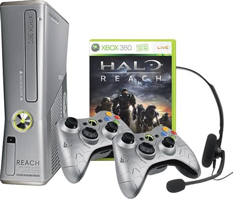 halo reach xbox 360 console microsoft xbox 360 limited edition halo reach 250gb