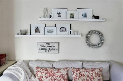 shelves over sofa 1000 images about family room shelves on pinterest