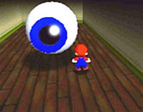 eye to eye in the secret room big boo s haunt favourite n64 mario 64 fanpop