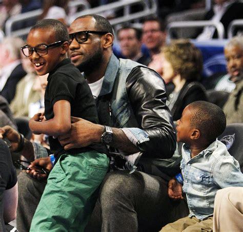 lebron james biography family fatherhood friday lebron on kids and teammates