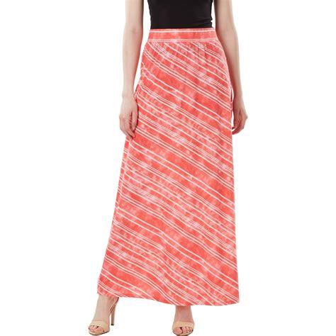 joe b juniors maxi skirt diagonal stripe skirts