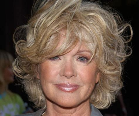 curly hair style for over 60 short shaggy hairstyles for women over 50 fave hairstyles