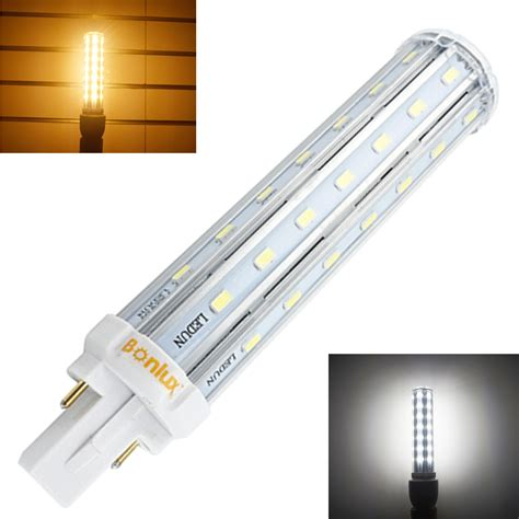2 Pin Led Light Bulbs Bombillas Led G24 2 Pin Base Corn Light Bulb 110v 220v 13w G24 Plc L Horizontal Light