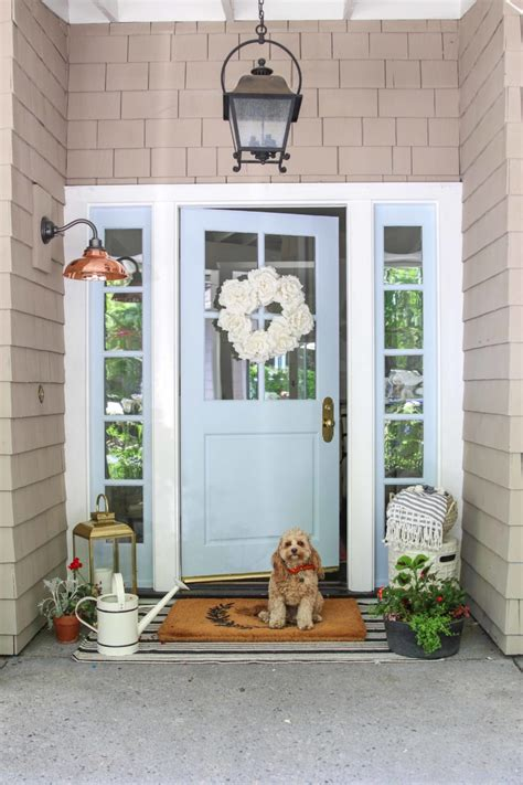 paint  front door   afternoon  easy guide