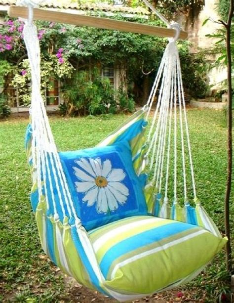diy chair swing 7 diy interesting outdoor swings
