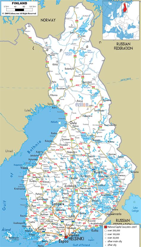 maps of finland map library maps of the world