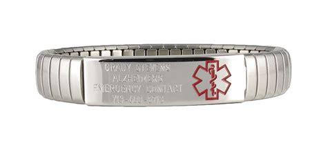 Medical Alert Bracelet Mental Illness   Jewelry FlatHeadlake3on3
