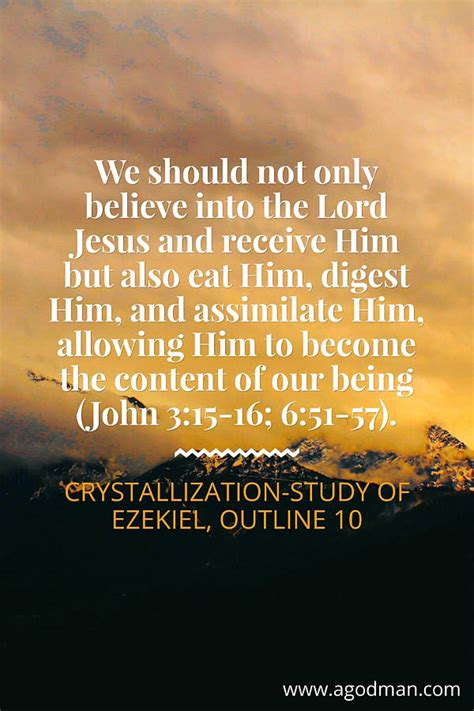 Should We Believe Him by Crucial Points To Consider As We Eat Digest And