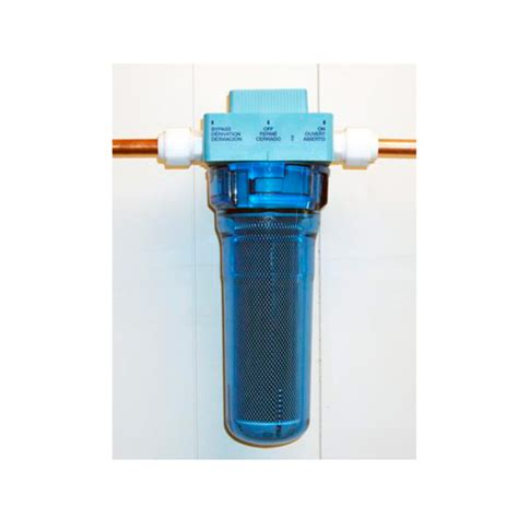 inline water filter inline chlorine water filter with on bypass valve model fc250 rainfresh