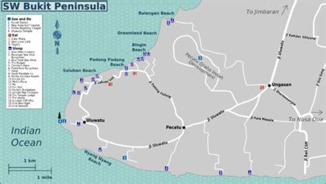 peninsula resort bali map bali weather forecast and bali map info detail location